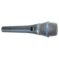 SHURE BETA87A MICRO VOIX STATIQUE SUPERCARDIOIDE Melody music caen