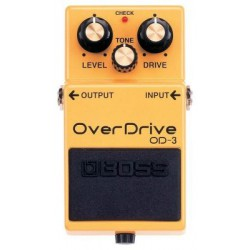 BOSS OD-3 OverDrive Melody music caen