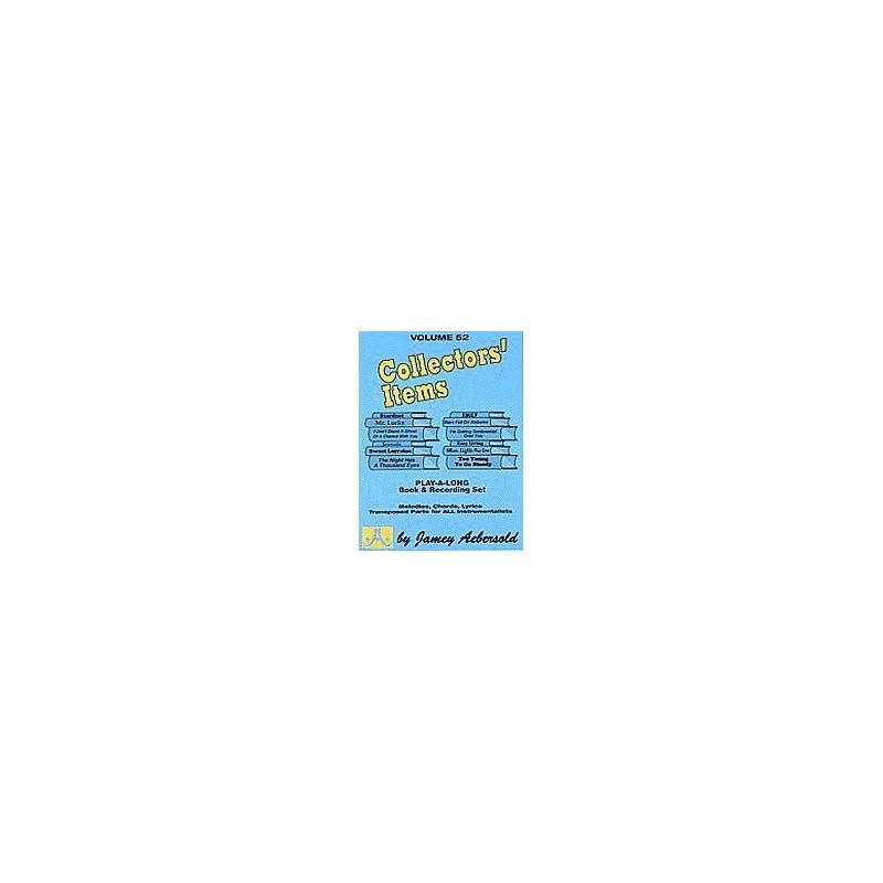 Collectors  Items Vol52 Aebersold Melody music caen