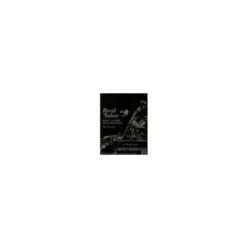 David Baker Vol10 Aebersold Melody music caen