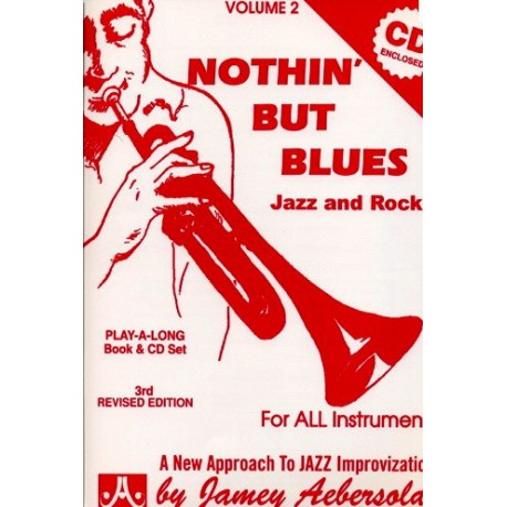 Nothin  but blues Jazz and Rock Vol2 Aebersold Melody music caen