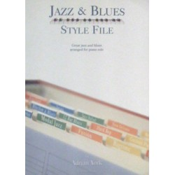 Jazz & Blues Style file Adrian York