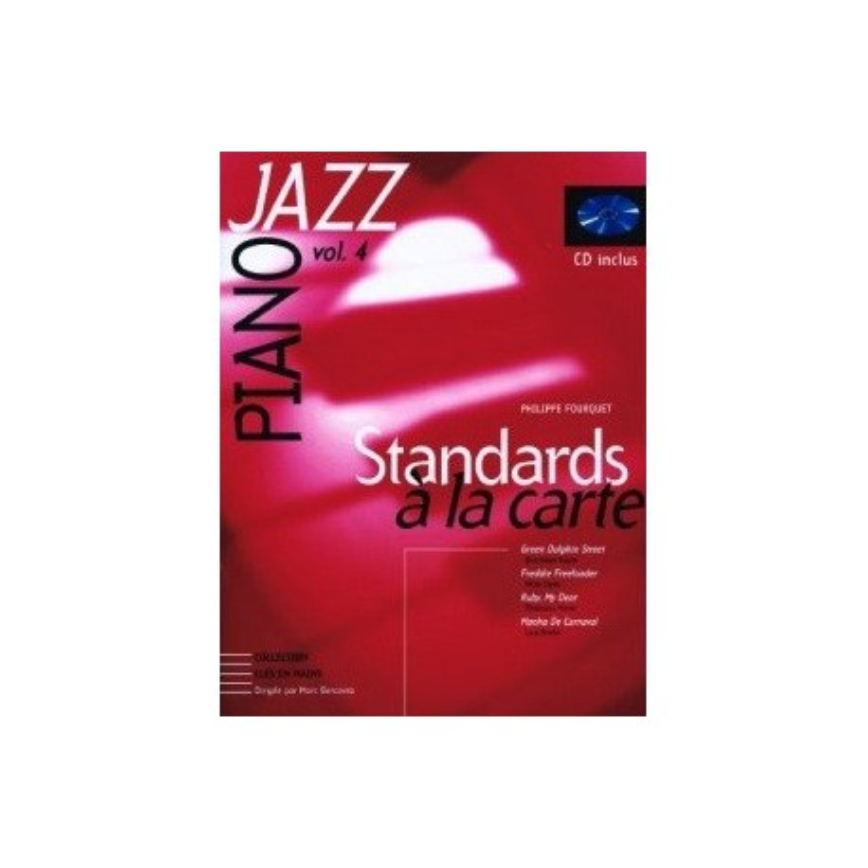 Piano Jazz vol4 Philippe Fourquet Melody music caen