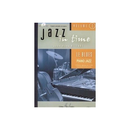 Jazz in time vol1 Le Blues Jean Marc Allerme Melody music caen