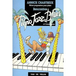 Piano jazz blues Rencontres Annick CHARTREUX