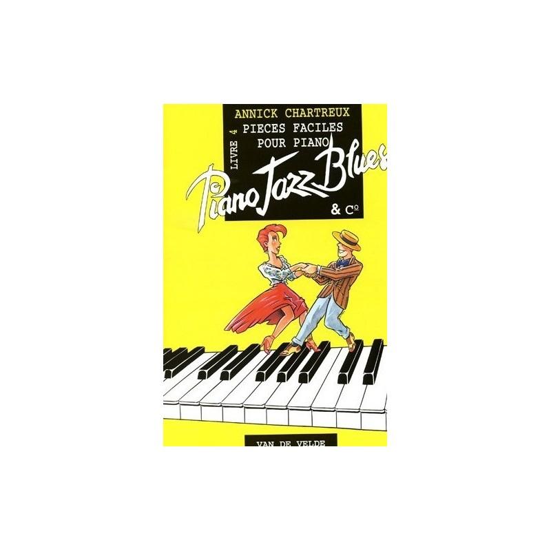 Piano jazz blues livre 4 Annick CHARTREUX Melody music caen