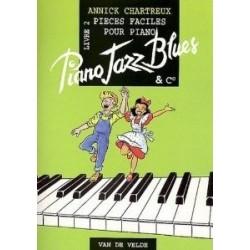 Piano jazz blues livre 2 Annick CHARTREUX