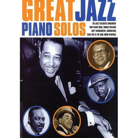 Great jazz piano solos Book 1 Melody music caen