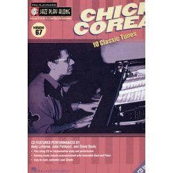 Jazz play along Vol67 Chick Corea avec CD