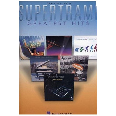 Supertramp greatest hits pour pinao chant guitare Melody music caen