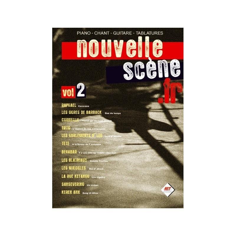 Nouvelle Scène Vol2 Ed Hit Diffusion Piano Chant Tablatures Melody music caen