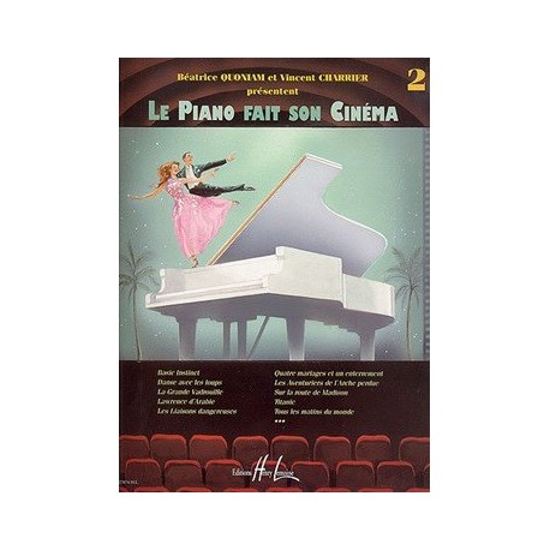 Le piano fait son cinéma Vol2 Melody music caen