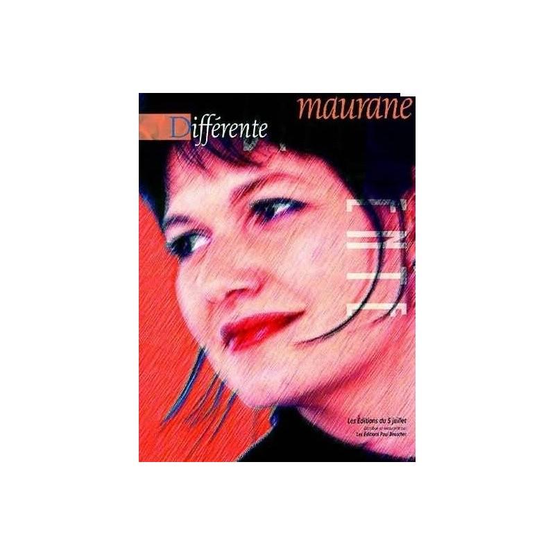 Maurane Différent Piano Voix Guitare Melody music caen