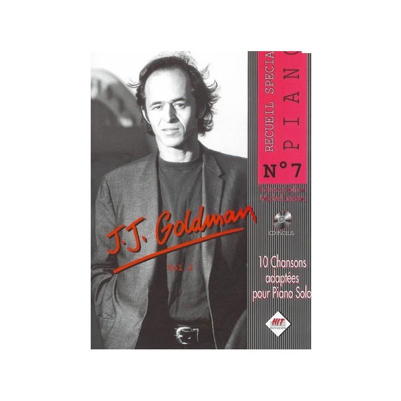 Jean Jacques Goldman Piano solo N°7 Melody music caen