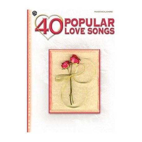 40 popular love songs Piano voix guitare Melody music caen