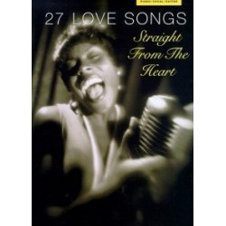 27 love songs Piano voix guitare