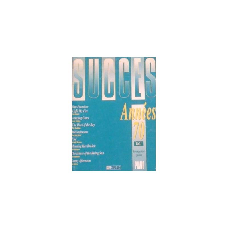 Ouvrage occasion Succès Années 70 Vol1 Ed HL Melody music caen