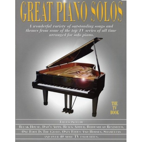 Great piano solos The TV Book ouvrage corné Melody music caen