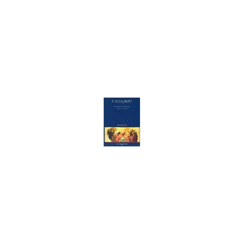 Moments musicaux op94 n°3 et 6 Schubert Melody music caen