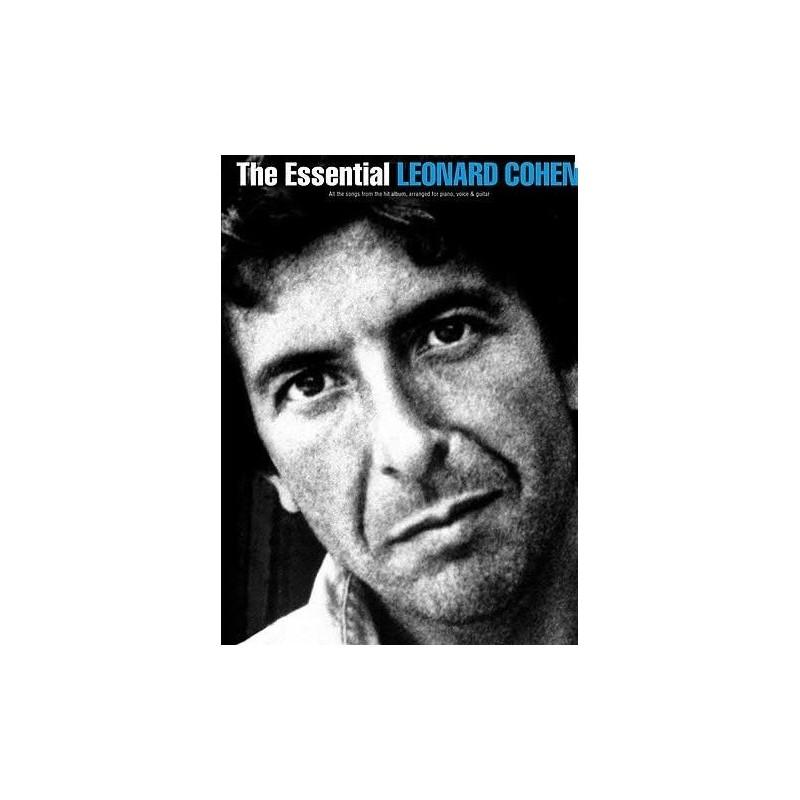 Leonard Cohen The Essential Piano voix guitare Melody music caen
