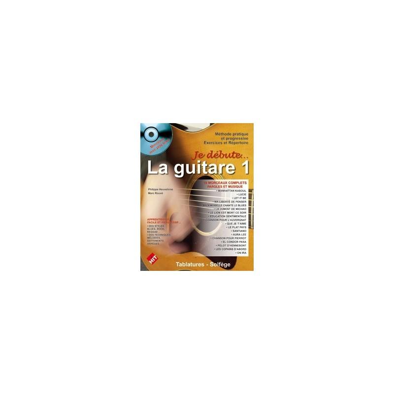 Je débute la guitare vol1 CD Philippe Heuvelinne Ed Hit Diffusion Melody music caen