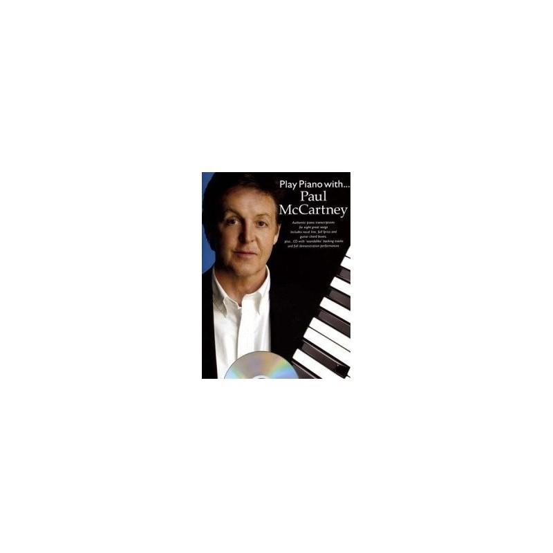 Play piano with...Paul McCartney avec CD Melody music caen
