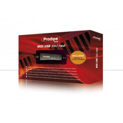 Prodipe 1i1o interface Midi USB