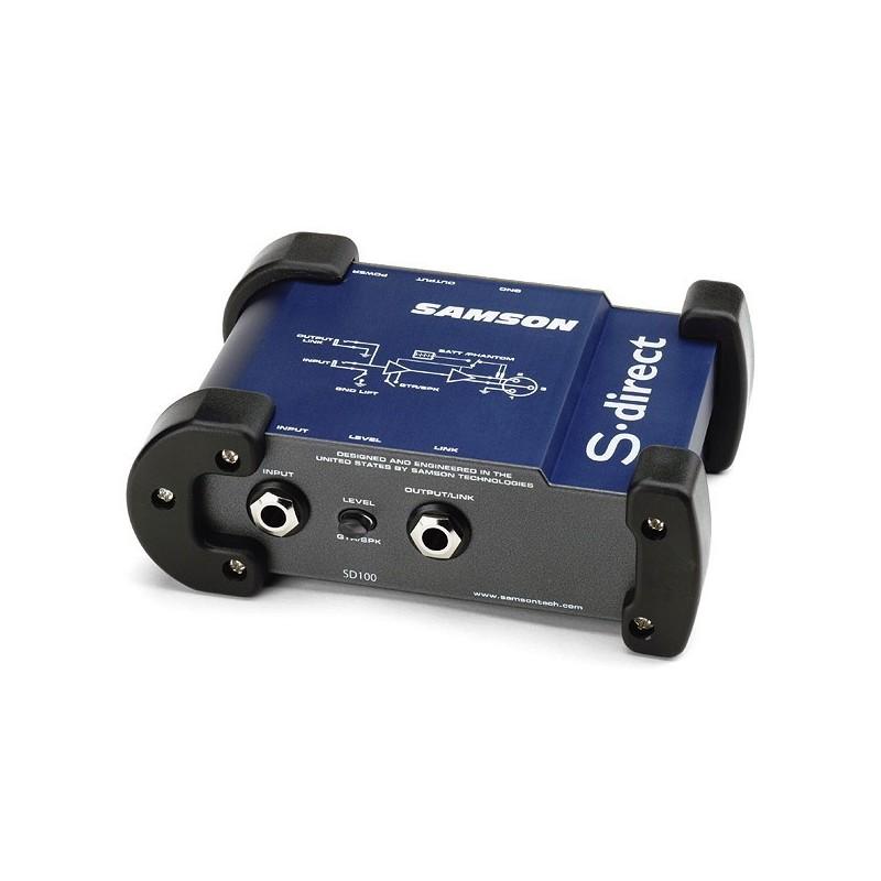 Samson SDIRECT DI active 48V ou sur pile