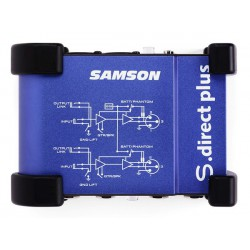 Samson SDIRECTPLUS DI Active 48V/Pile 2 Canaux