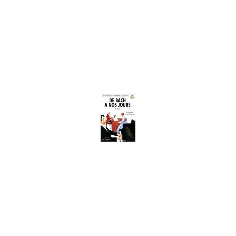 De Bach à nos jours Vol4B Charles Hervé et Jacqueline POUILLARD Ed Henry Lemoine Melody music caen