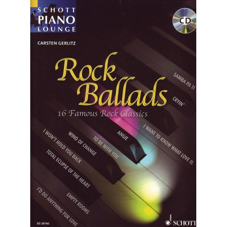 Schott Piano Lounge Rock Ballads Melody music caen