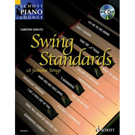 Schott Piano Lounge Swing Standard Melody music caen