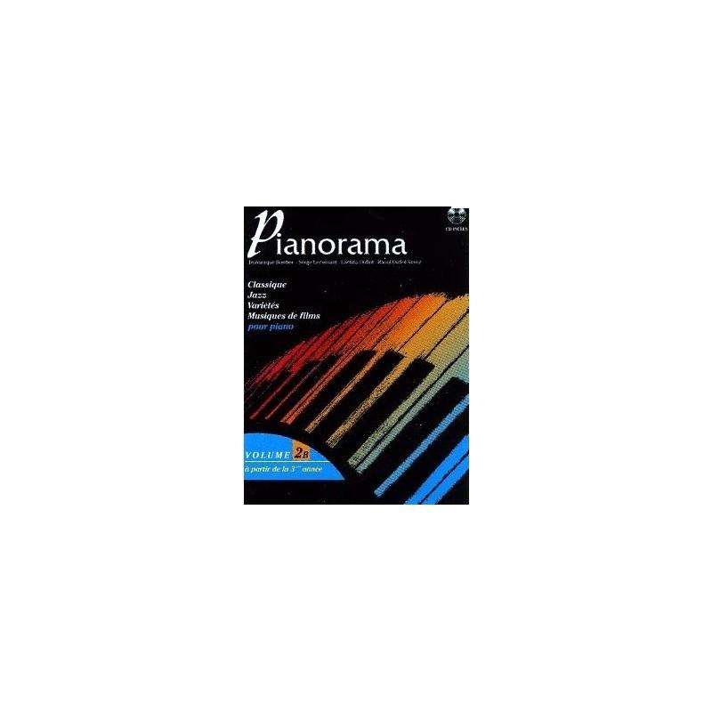 Pianorama Vol2B Dominique Bordier Melody music caen