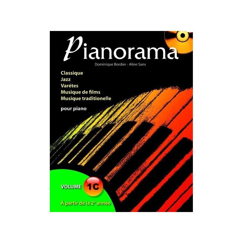 Pianorama Vol1C Dominique Bordier Melody music caen