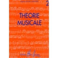 Théorie musicale Vol2 Sophie JOUVE GANVERT