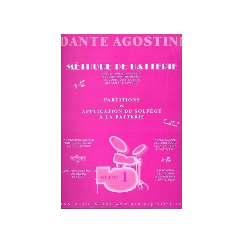 Dante Agostini Methode de batterie Volume 1 Melody music caen