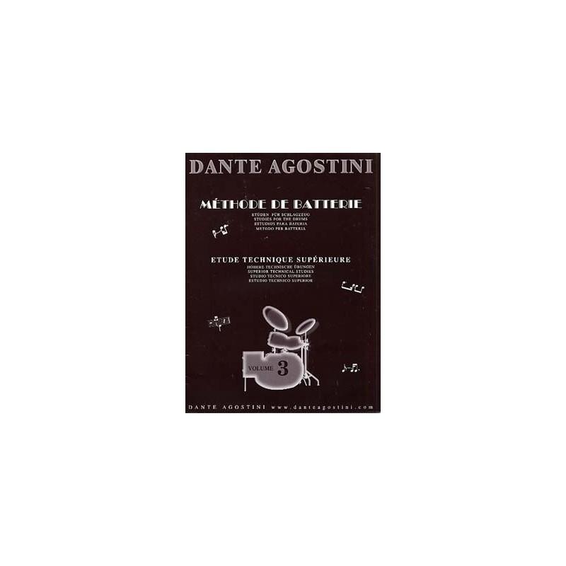 Dante Agostini Methode de batterie Volume 3 Melody music caen