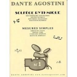 Dante Agostini Solfege rythmique N°1