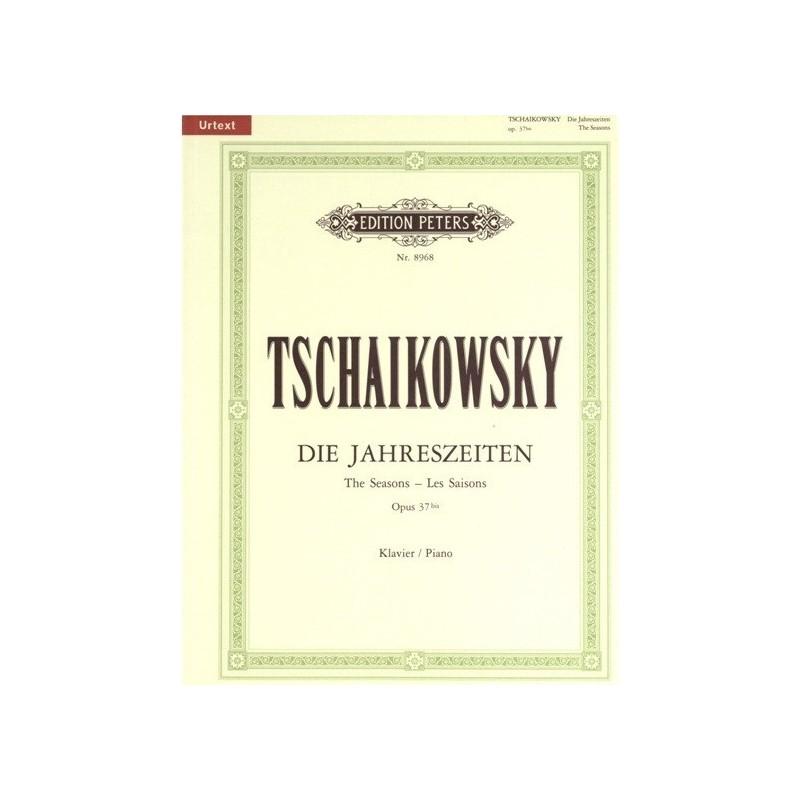 Les saisons op37bis Tschaikowsky N°8968 Melody music caen