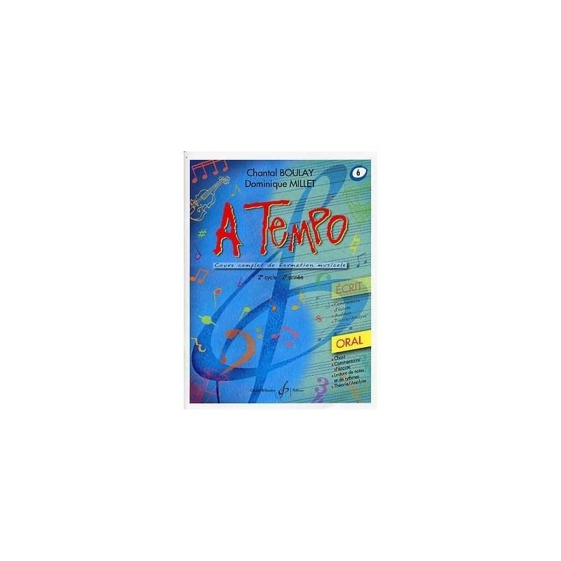A Tempo Vol 6 Oral 2è cycle 2ère année Melody music caen