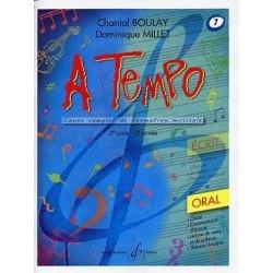 A Tempo Vol 7 Oral 2è cycle 3èm année