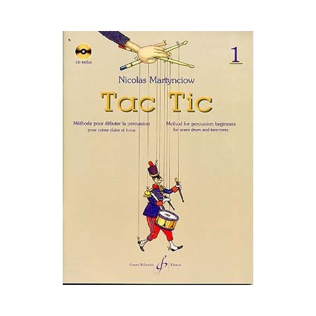 Edition Billaudot TAC TIC VOL1 Melody music caen