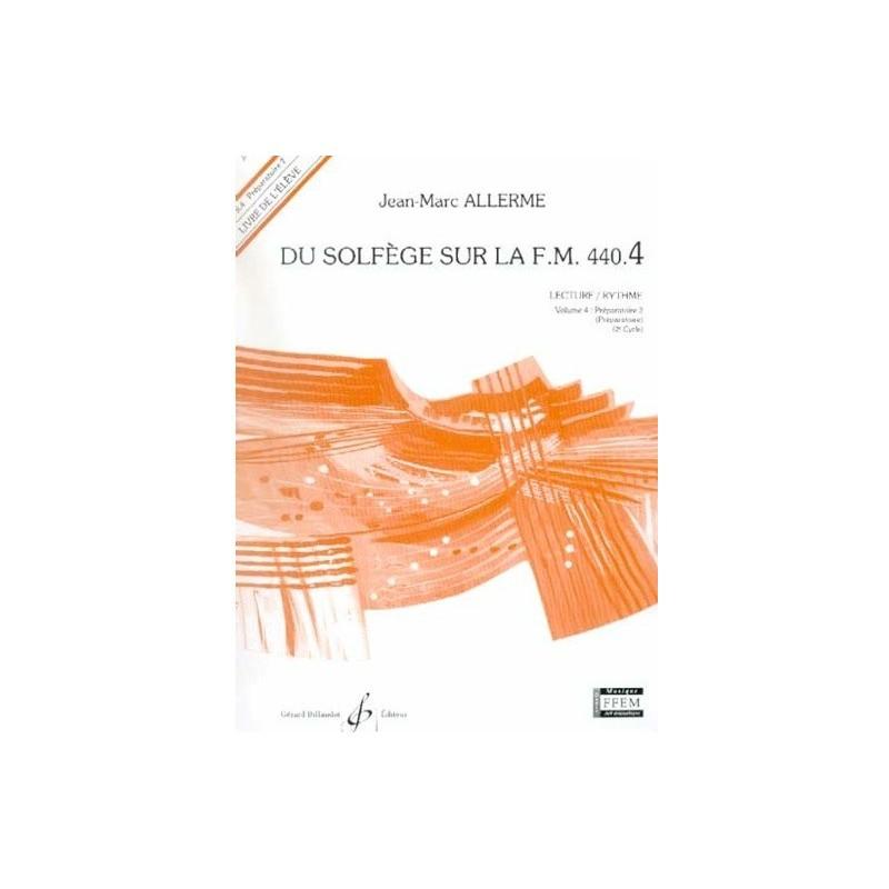 Du Solfège sur la FM 440.4 Lecture/Rythme Jean Marc Allerme Ed Billaudot Melody music caen