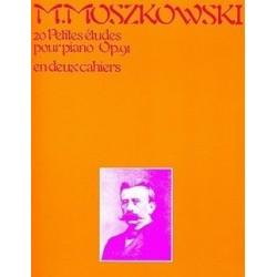 20 petites études pour piano op91 Moszkowski