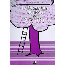 La Formation Musicale en 2è 3è Cycle Vol 7