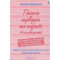 La Théorie Expliquée aux enfants Vol. 4