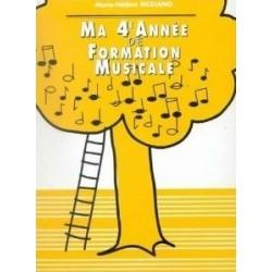 Ma 4è Année de Formation Musicale Marie Hélène SICILIANO Melody music caen