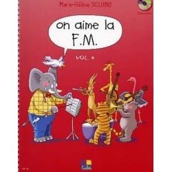 On aime la FM Vol4 année de SICILIANO Ed Hexamusic Melody music caen