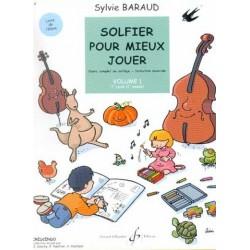Solfier pour mieux Jouer vol1 Sylvie Baraud Ed Billaudot Melody music caen