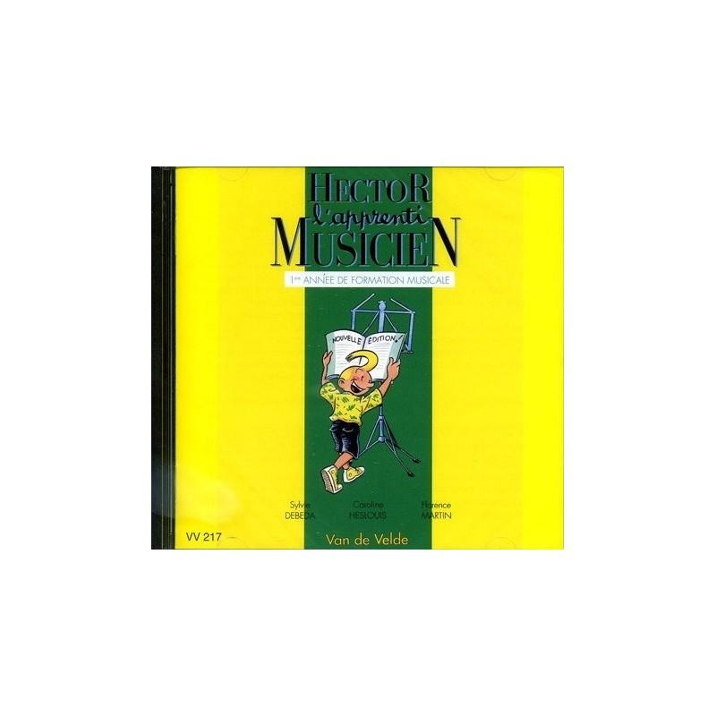Hector l Apprenti Musicien Vol1 + CD Ed Van de Velde Melody music caen